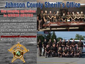 Now Hiring Reserve Deputies